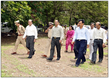 6 Shri A.K.Joti,Chief Secretary,Government of Gujarat jau visit (2)