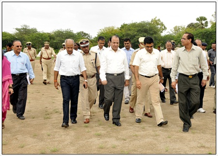 6 Shri A.K.Joti,Chief Secretary,Government of Gujarat jau visit (5)